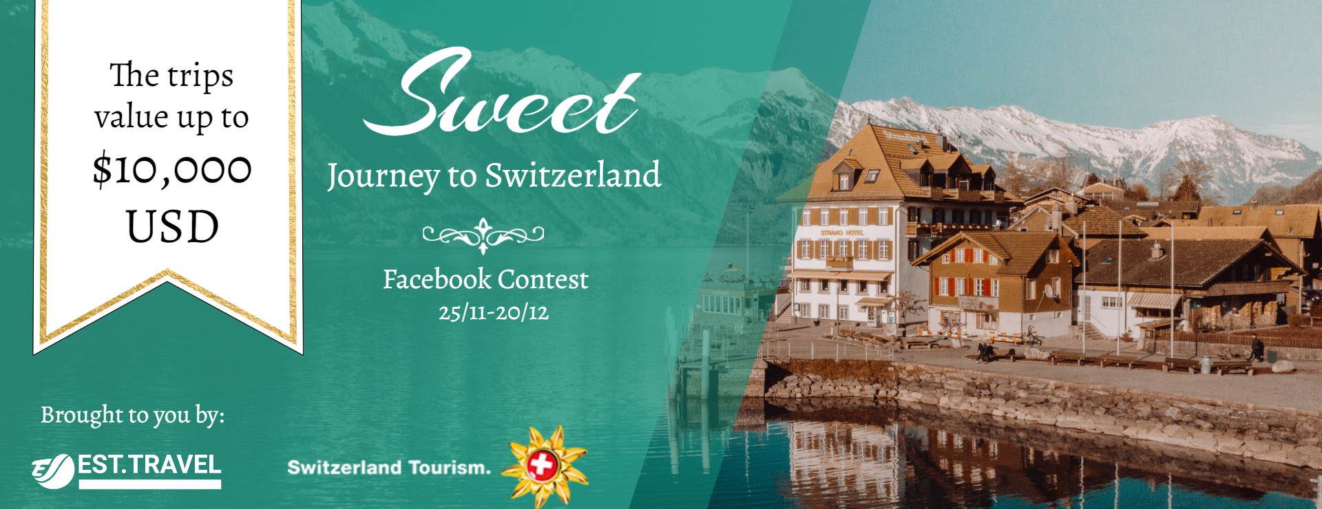 Sweet Journey to Switzerland Facebook contest