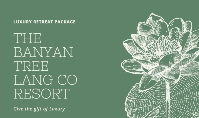 Luxury Retreat- The Banyan Tree Lang Co Resort Hue